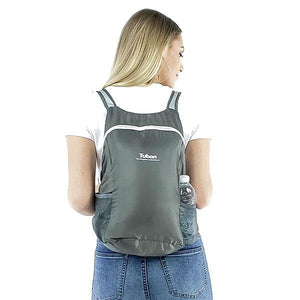 foldable backpack with side bottle holder