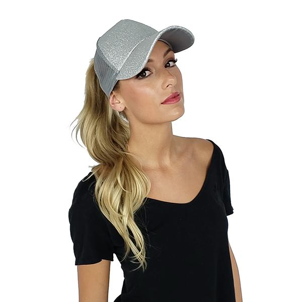 C.C Ponytail For Big Thick Curly Wavy Messy Buns Ponycaps Baseball Cap Dad Hat