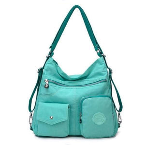 Emerald convertible backpack purse