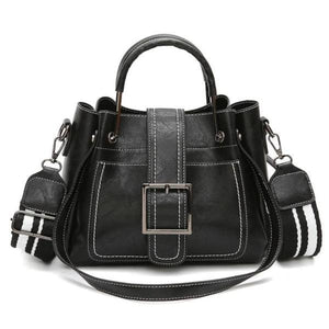 Black crossbody bags for women leather