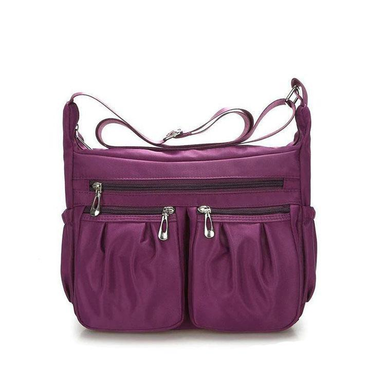 lightweight nylon crossbody bag