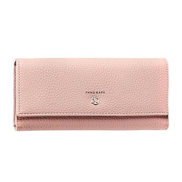 light pink wallet