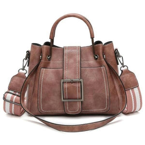 Pink crossbody bags for women leather