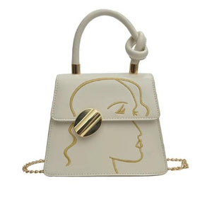 The art, Stylish Women Handbag, beige