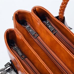 Autumn, Gorgeous Multifunctional Handbag, closed compartments