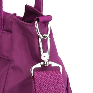 nylon bag with removable straps