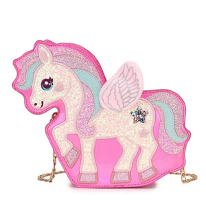Unicorn Adjustable Magic Bag, pink