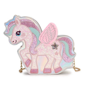 Unicorn Adjustable Magic Bag, silver