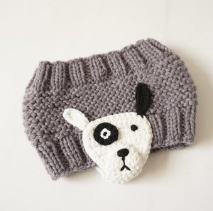 Cute Cartoon Headband for Kids, grey