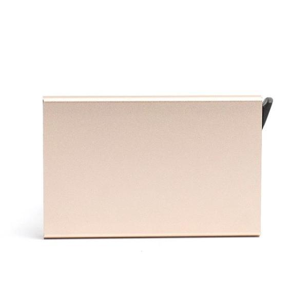 Peach color Anti Theft RFID Smart Wallet