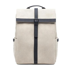 white canvas backpacks 15 inch laptop