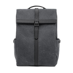 Dark Grey Canvas backpacks 15 inch laptop