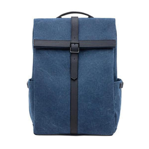 Blue Canvas backpacks 15 inch laptop