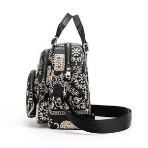 elephant print bag crossbody backpack