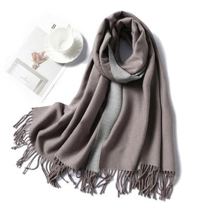 Womens Cashmere Scarves light pink
