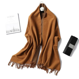foulard scarf  coffee