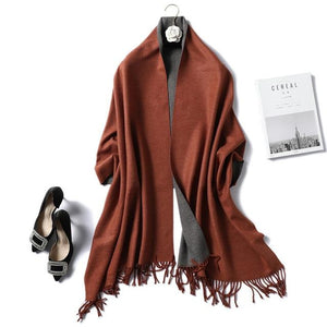 Womens Cashmere Scarves palm