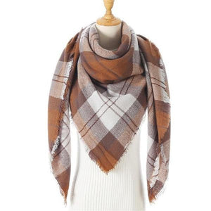 scarf for women plaid