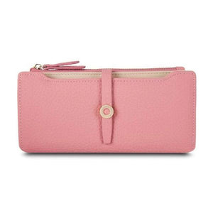 Pink slim wallets for women