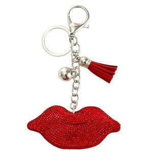 Red lips Keychain