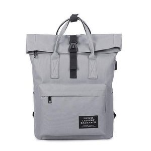 Cargo Usb School Bag