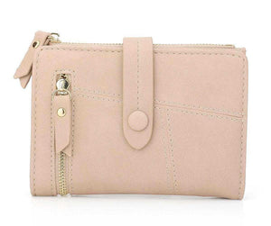 Pink mini wallet womens
