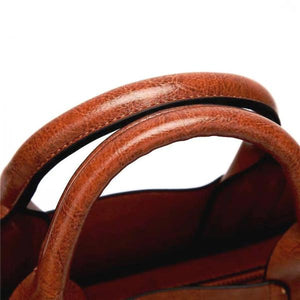 Tote bag top handles