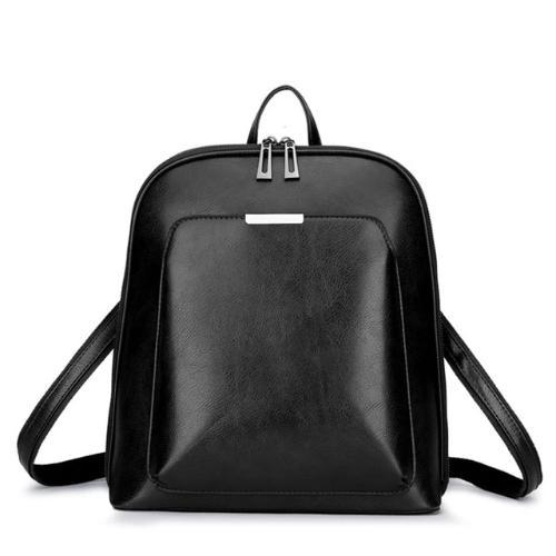 Crossbody backpack leather for women