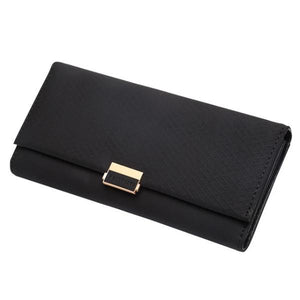 Black women's clutch wallet