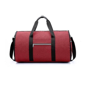 Spacious Duffle Bag for Travel, red