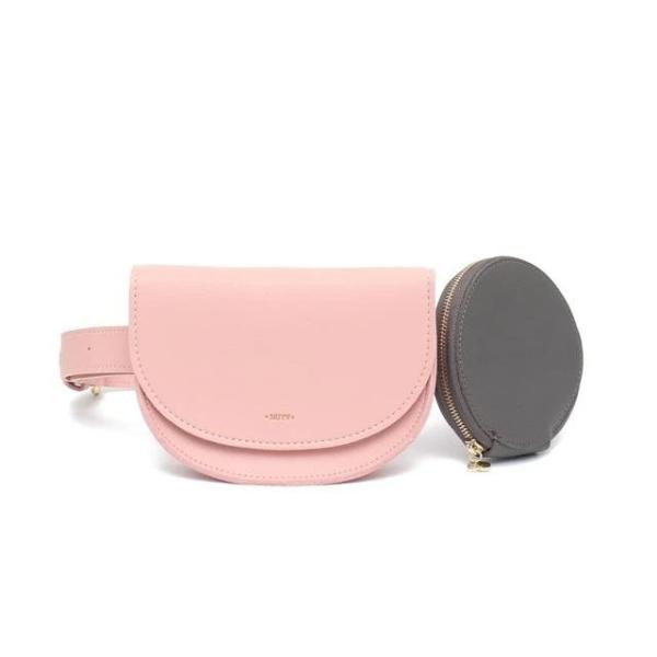 Pink fashion fanny pack womens