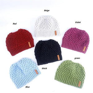 Montana, Beautiful Ponytail Beanie for Women, assorted colors