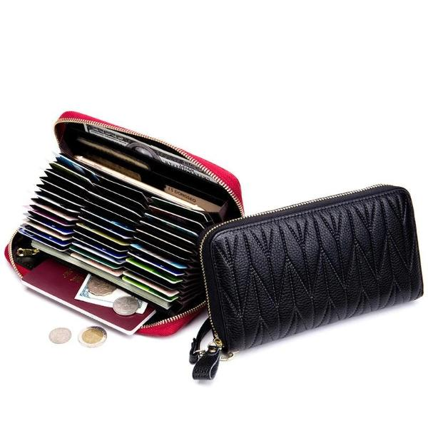 Credit card holder rfid wallet womens