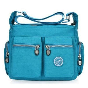Skye blue nylon crossbody bags cheap