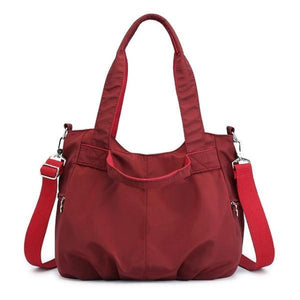 Red stylish crossbody bags for travel
