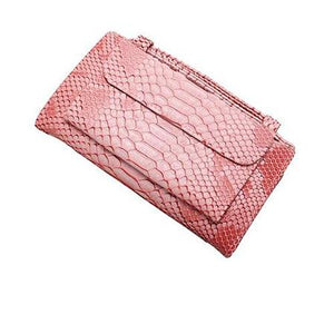 Pink wallet purse with handle