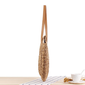 Summer Straw Beach Bag For Women