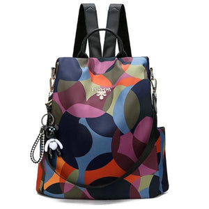 Colored backpack purse