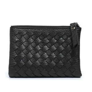 Black small wallets for women