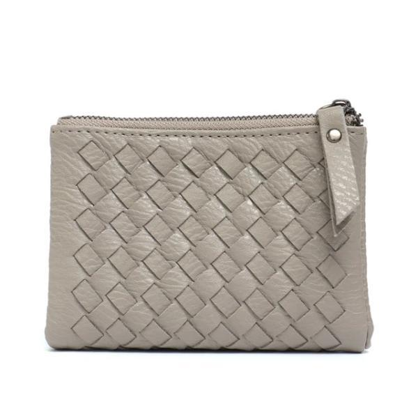 Gray small wallets for women