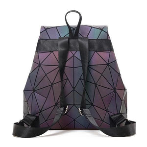 Geometrical Multicolor luminous backpack