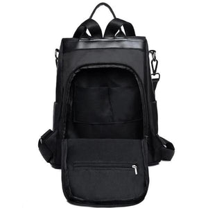 rear pocket anti theft backpack