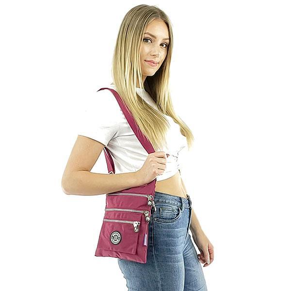 small crossbody bag with compartments