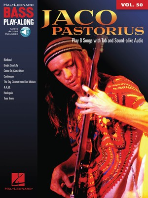 Jaco Pastorius - Bass Play-Along Vol.50