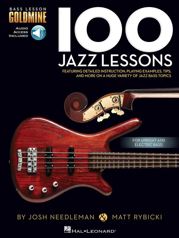 100 Jazz Lessons Bass Goldmine Series