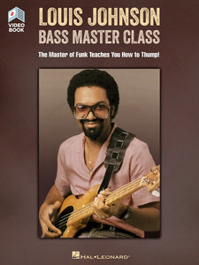 Louis Johnson - Bass Master Class - Video Book