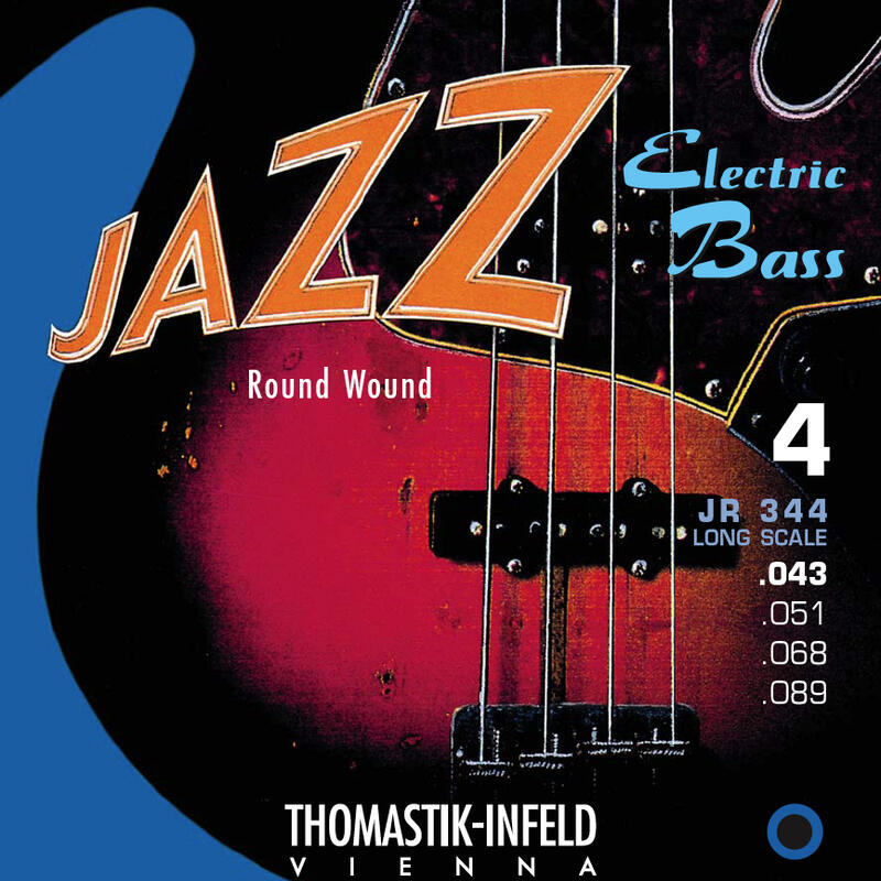Thomastik JR344 Jazz Bass Roundwound 43-89 Bass Strings