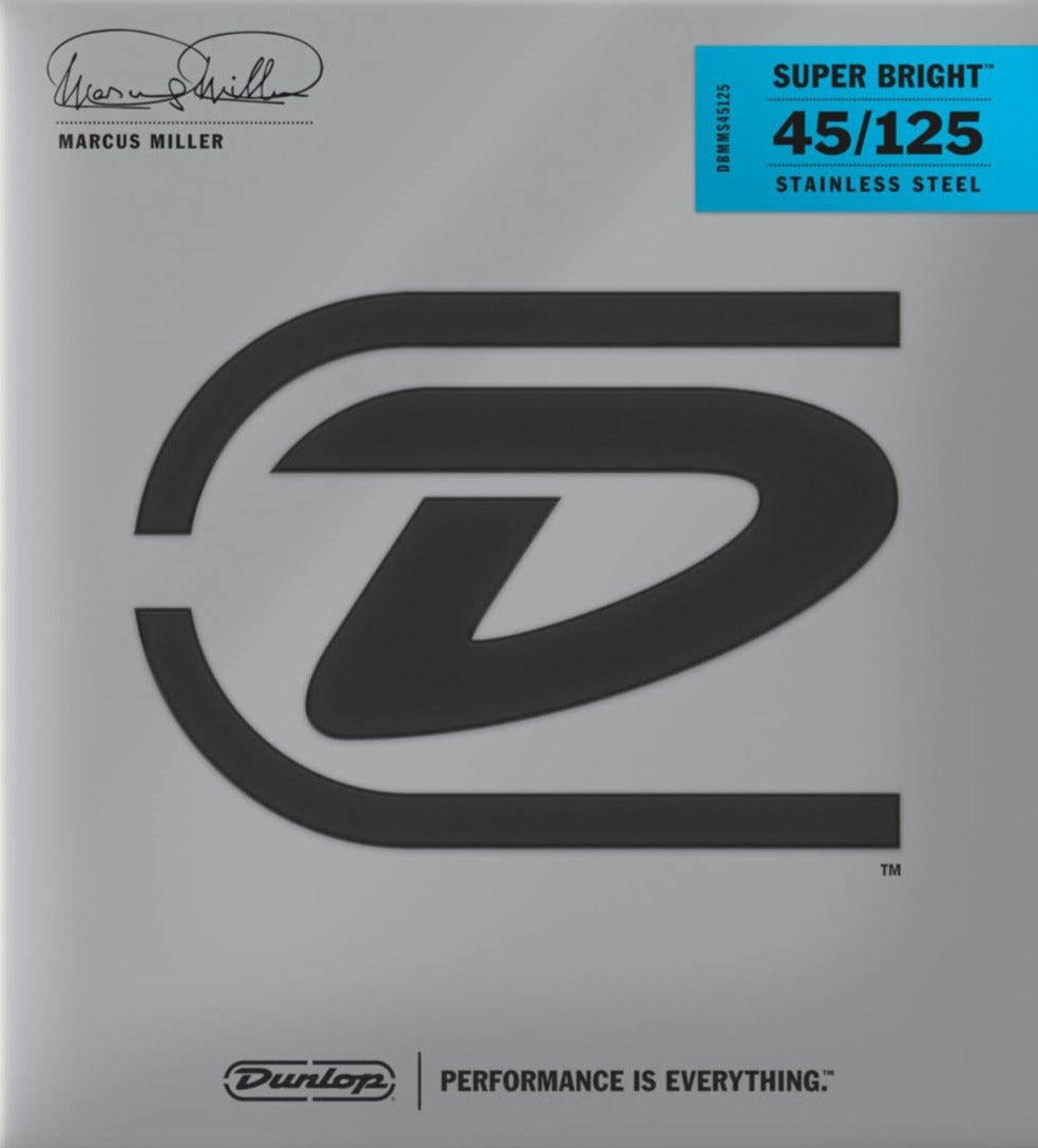 Dunlop - Marcus Miller Super Bright Bass Strings 45-125