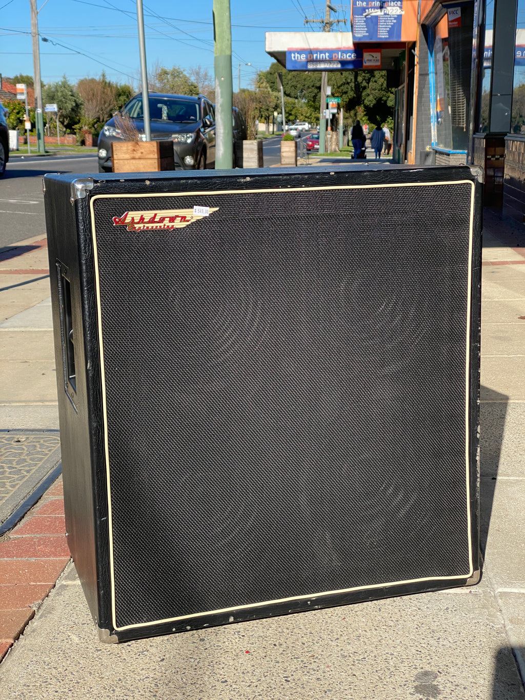 Ashdown MAG 410T Deep Bass Amplifier Cabinet (s/hand)