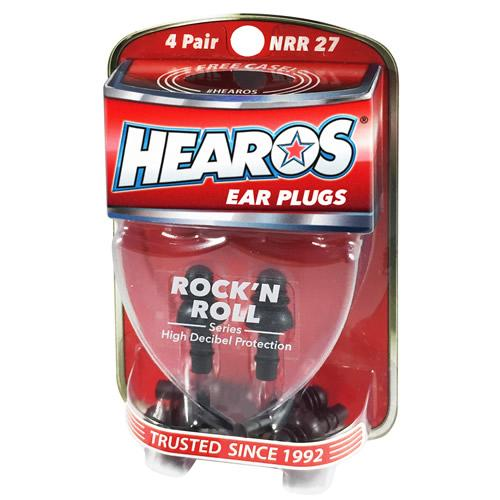 Hearos Ear Plugs NRR27 (1 Pair)